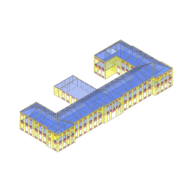 """Intervento di miglioramento sismico dell'edificio denominato Scuola Primaria """"G.E. Falck"""""""