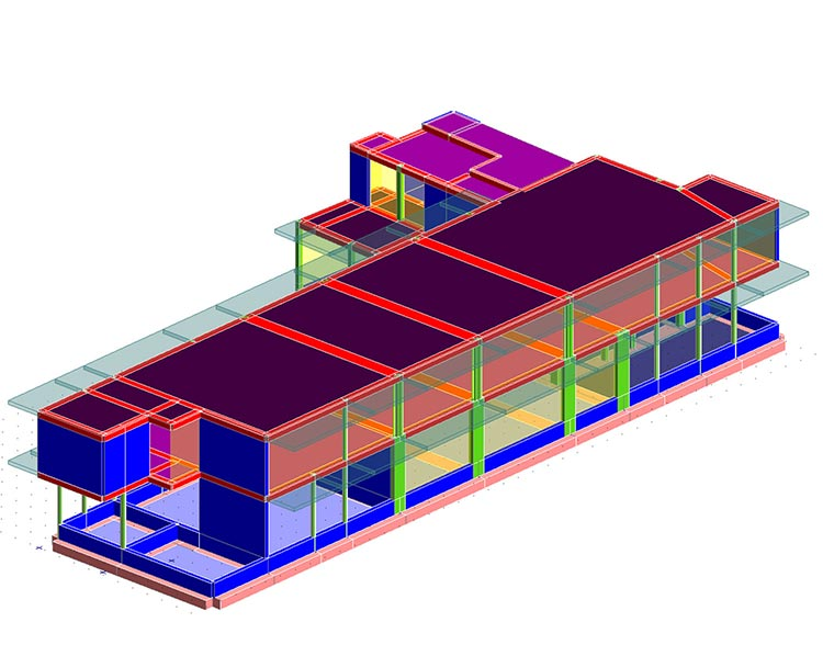 Ristrutturazione ed ampliamento di una struttura alberghiera